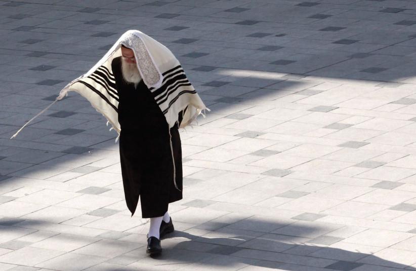 Haredi man in Jerusalem  (photo credit: MARC ISRAEL SELLEM)