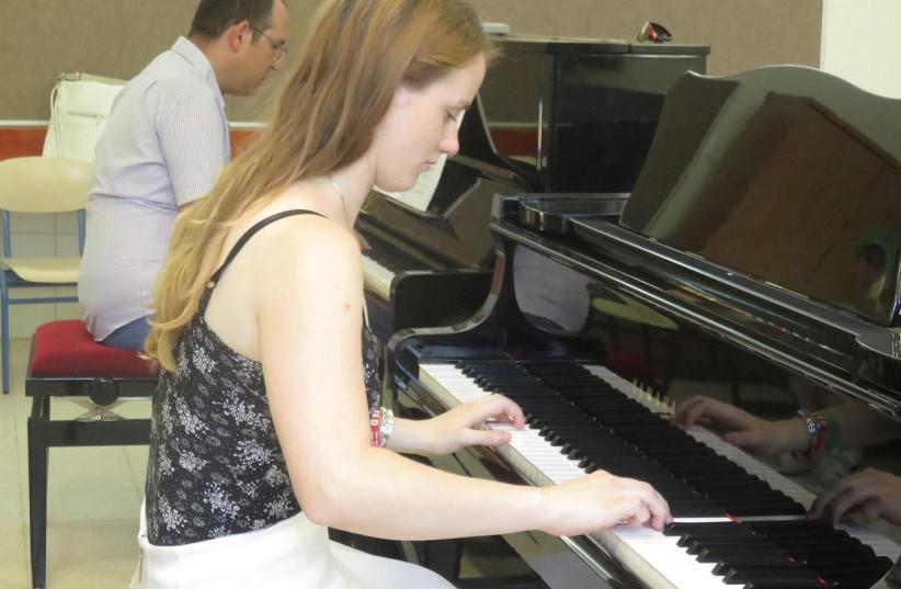 Piano class (photo credit: PR)