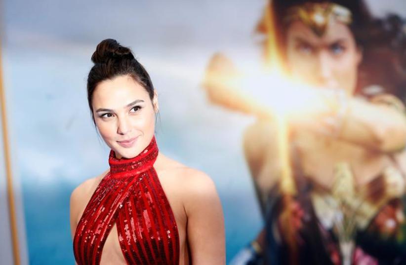 Gal Gadot Wonder Woman (photo credit: REUTERS)