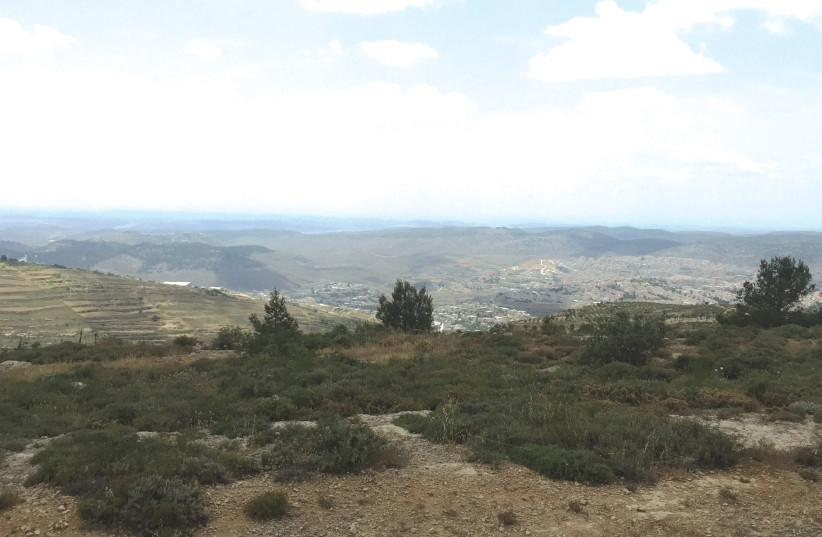 A view from Gush Etzion (photo credit: Courtesy)