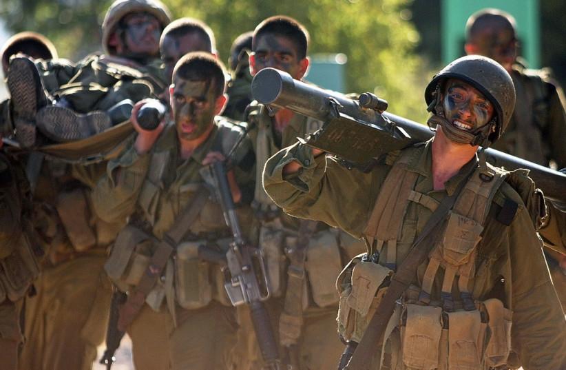 IDF soldiers in training  (photo credit: IDF SPOKESMAN'S UNIT)