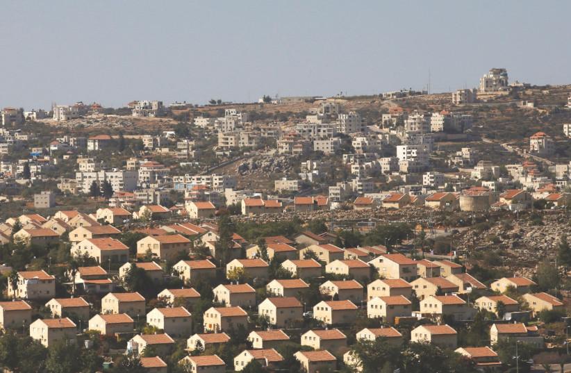 The West Bank  (photo credit: RONEN ZVULUN / REUTERS)