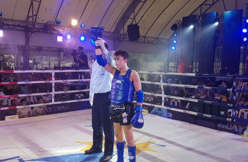 Amit Mdah wins bronze in Thailand.  (photo credit: AYELET/COURTESY)