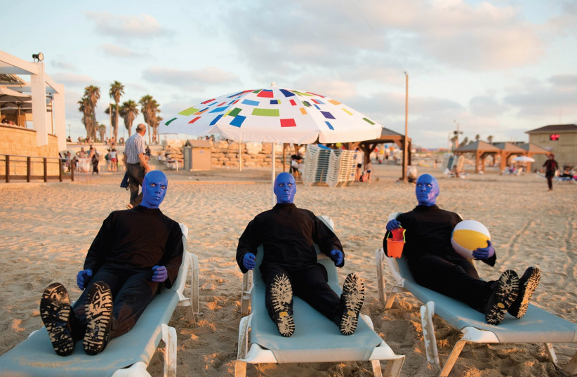 On the Tel Aviv Beach   (photo credit: LIOR KETER)