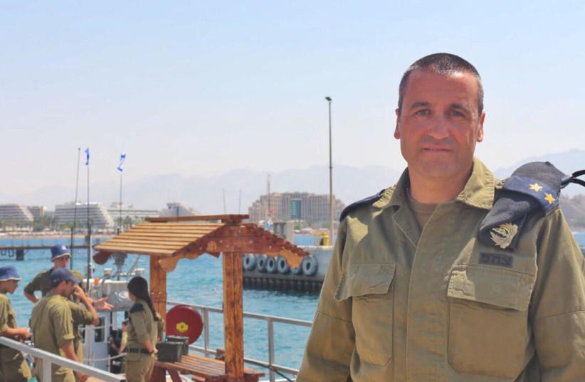 Lt. Col. Oren Nahbas  (photo credit: ANNA AHRONHEIM)