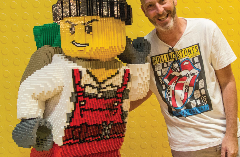 Avi Morgenstern, a producer at the Lego Park