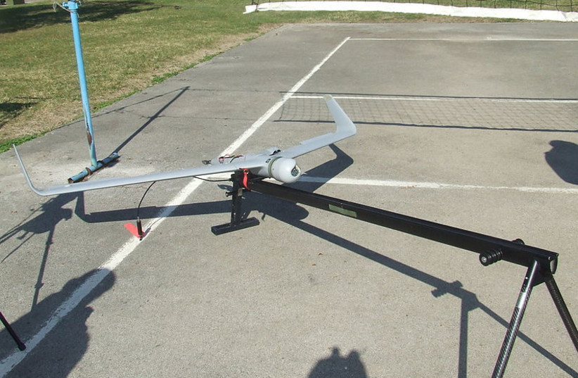 """Drone """"Orbiter"""" of Serbian army manufactured by Aeronautics Defense Systems. (photo credit: Wikimedia Commons)"""