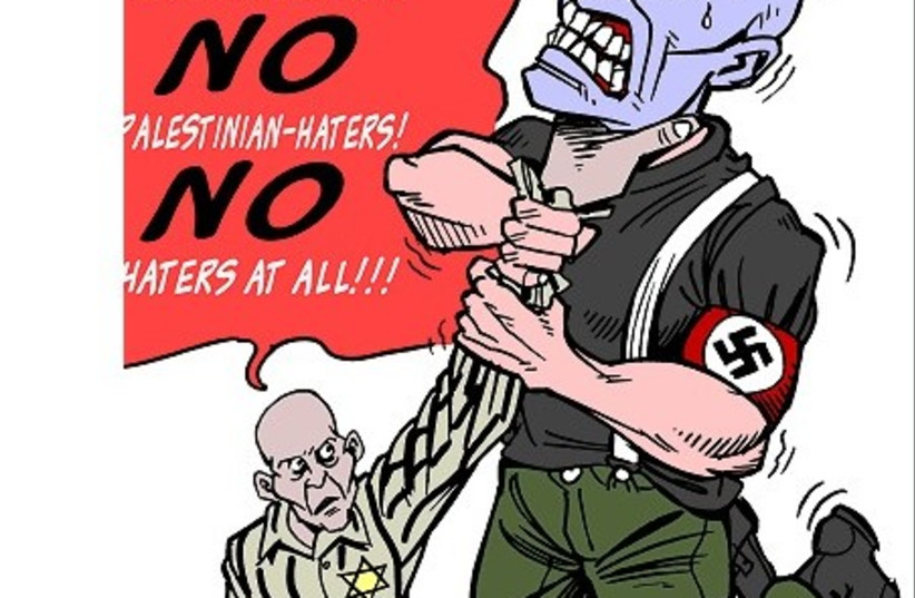 No haters at all  (photo credit: CARLOS LATUFF / WIKIMEDIA COMMONS)