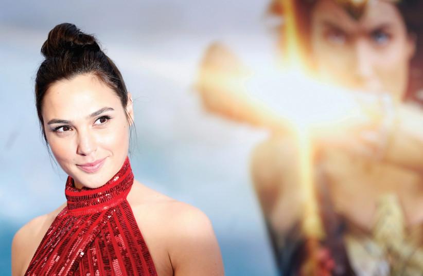 GAL GADOT at the May premiere of 'Wonder Woman,' in Los Angeles. Does Israel really need hasbara?  (photo credit: REUTERS)