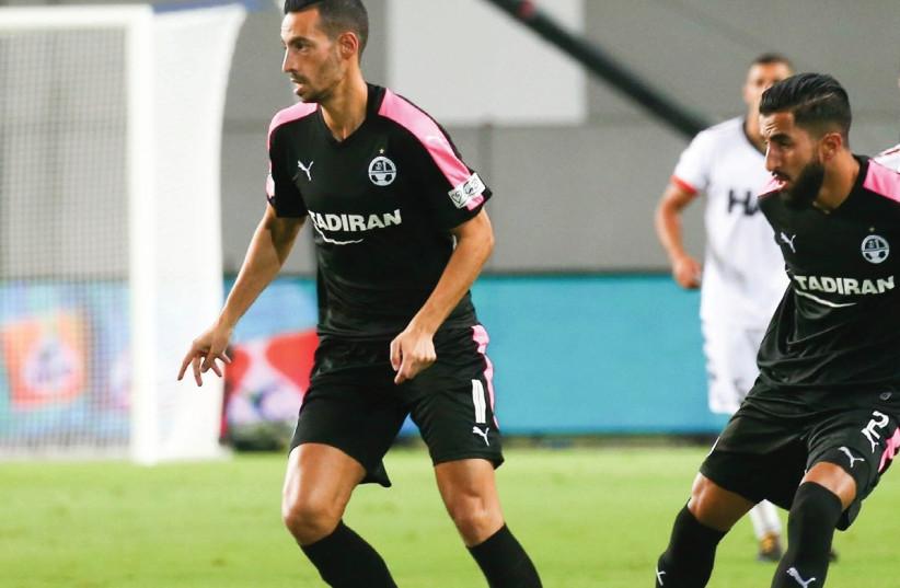 Hapoel Beersheba midfielder Dan Einbinder. (photo credit: DANNY MARON)