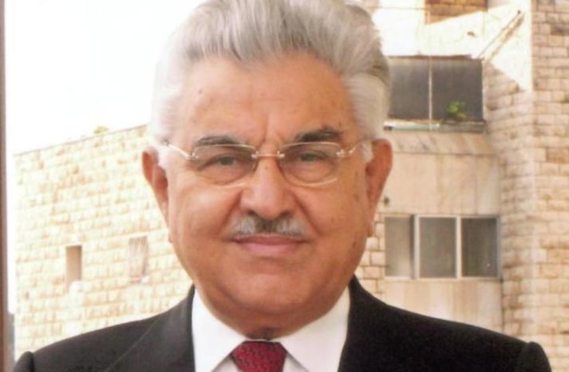 Israeli politician and former justice minister Moshe Nissim (photo credit: Wikimedia Commons)
