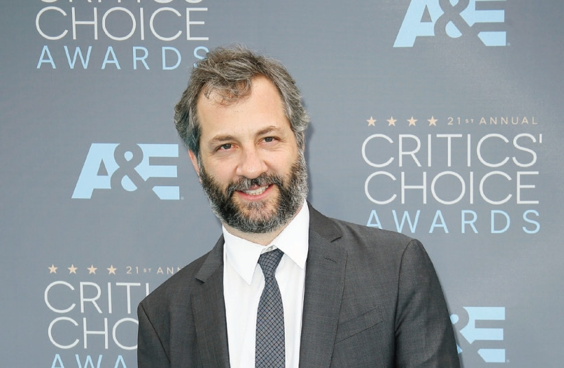 Judd Apatow attends the 21st Annual Critics' Choice Awards in Santa Monica, California.  (photo credit: DANNY MOLOSHOK/REUTERS)