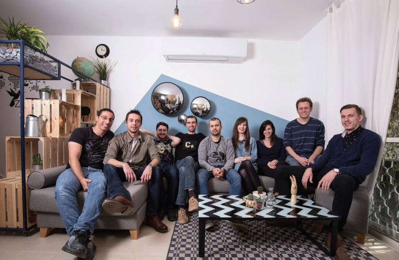 THE ZIPY TEAM hopes to expand operations abroad in Romania and Russia while constantly looking for partners in other countries (photo credit: COURTESY ZIPY)