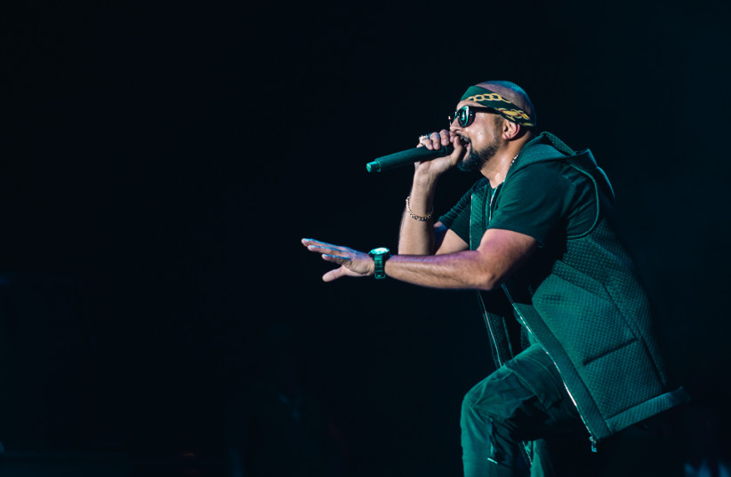 Sean Paul at a hip-hop festival in Rishon Lezion, August 22, 2017.  (photo credit: YOSSI MAMIA)