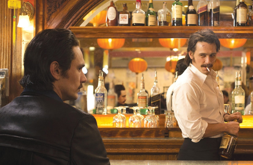 JAMES FRANCO takes on the dual roles of twin brothers in 'The Deuce.' (photo credit: HBO)