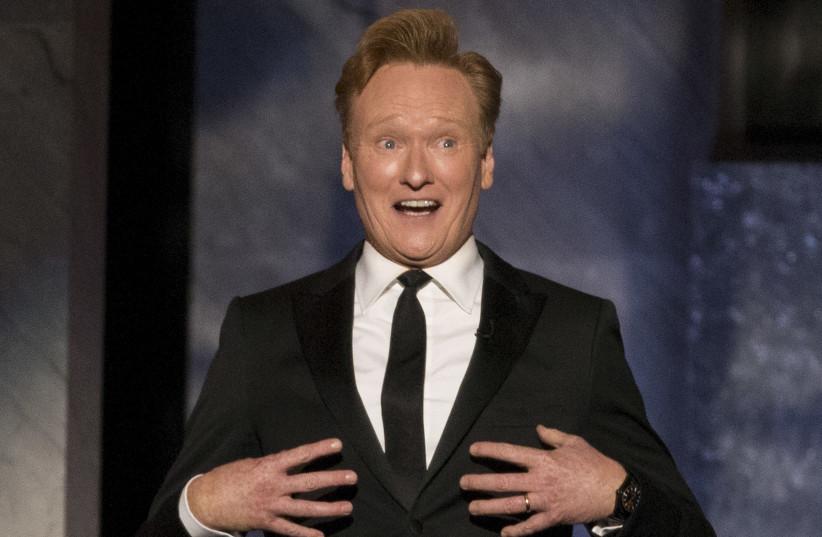 Comedian Conan O'Brien (photo credit: REUTERS)