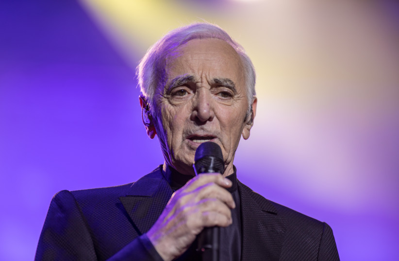 Charles Aznavour chantera à Tel-Aviv (photo credit: DR)