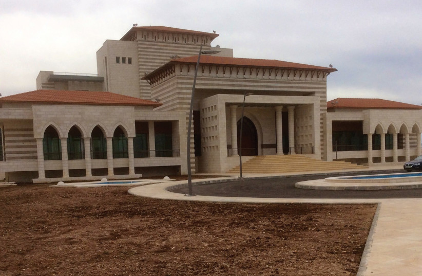 THE FUTURE national library in Ramallah. (photo credit: PEDCAR)