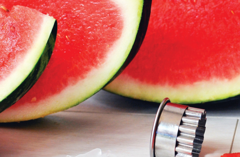 Watermelon (photo credit: PASCALE PEREZ-RUBIN)