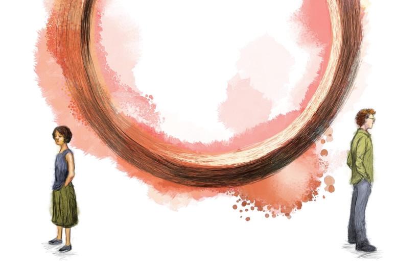 Divorce Illustration  (photo credit: JEFF DURHAM/MCT DIRECT)