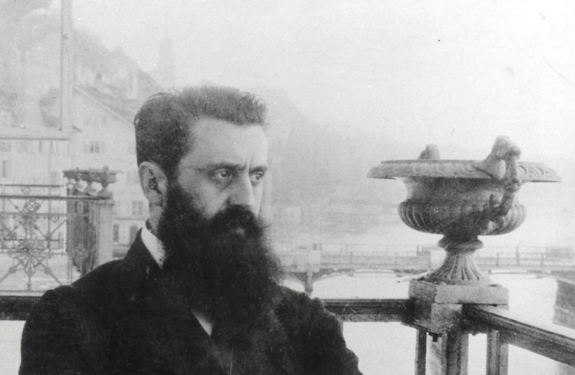 Theodor Herzl: 'It felt as if the great dream of our nation, of 2,000 years.' (photo credit: GPO)