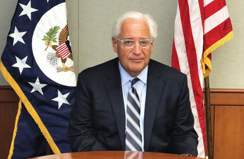 US AMBASSADOR to Israel David Friedman. (photo credit: Courtesy)
