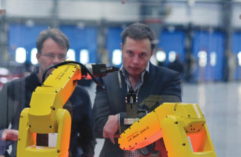 Elon Musk; fondateur de Tesla (photo credit: WIKIPEDIA)