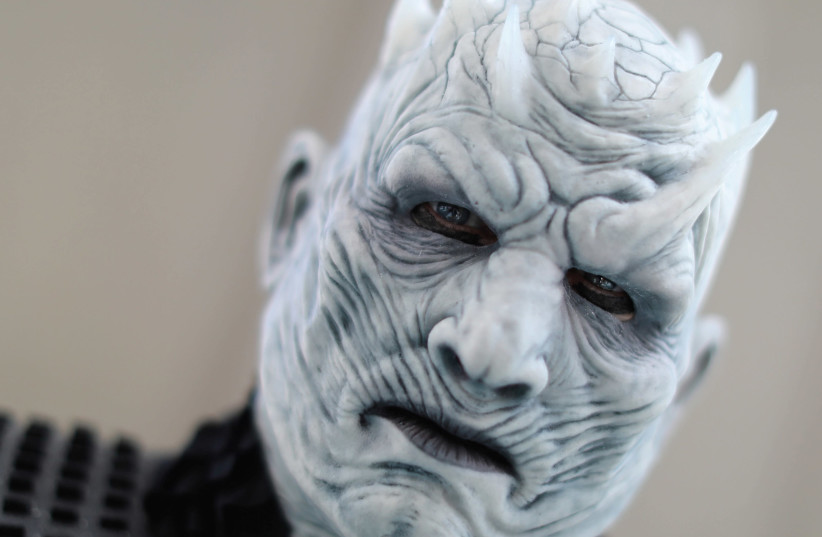 King of the White Walkers from 'Game of Thrones'. (photo credit: REUTERS)