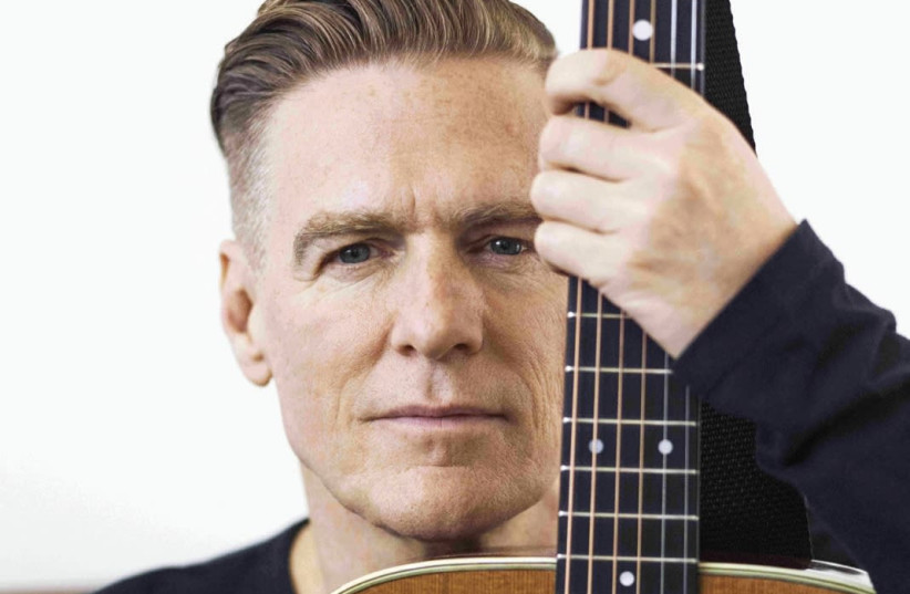 Canadian rock star Bryan Adams is performing three shows in Israel in December. (photo credit: Courtesy)