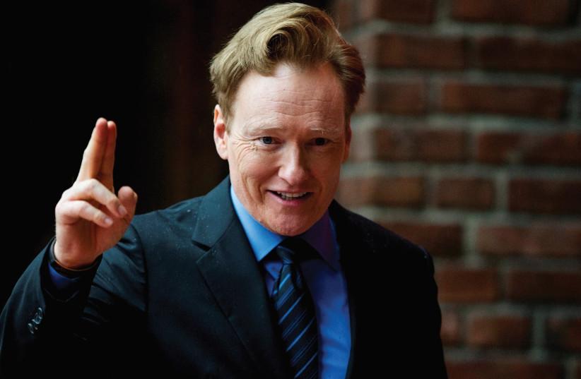Conan O'brien (photo credit: REUTERS)
