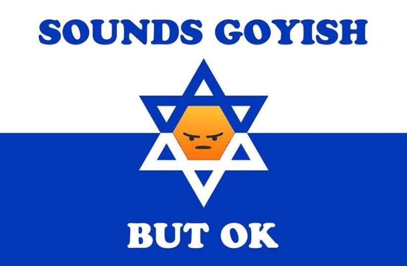 ''Sounds goyish but ok'' Facebook group (photo credit: SAM HAFT)