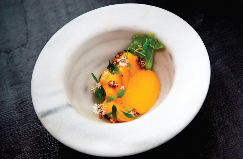 ONE OF the specialty dishes by Spanish Michelin star chef Ricard Camarena. (photo credit: Courtesy)