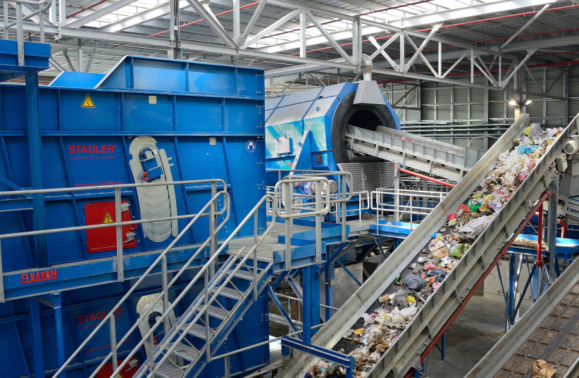 Greennet waste facility (photo credit: Courtesy)