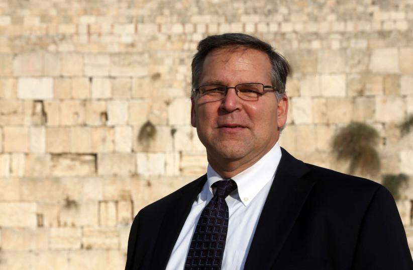 Jerry Silverman standing at the Western Wall.  (photo credit: MARC ISRAEL SELLEM/THE JERUSALEM POST)