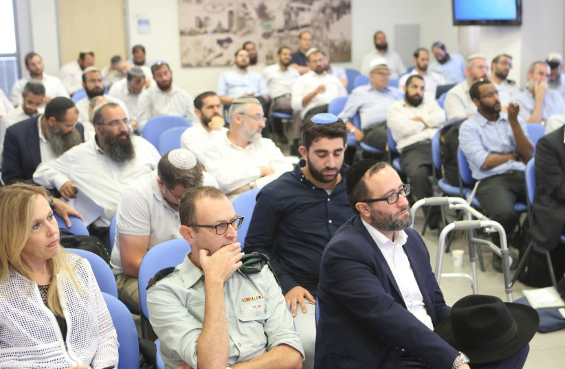 More than 100 rabbis were given professional instruction at a conference of the Barkai association of communal rabbis (photo credit: BARKAI CENTER FOR PRACTICAL RABBINIC AND COMMUNITY DEVELOPMENTC)