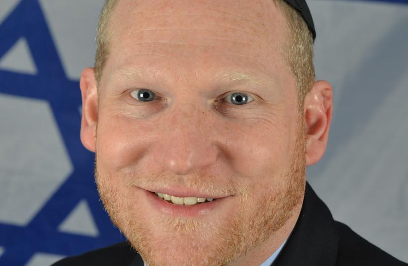 Rabbi Yehoshua Fass (photo credit: TOMER MALICHI)