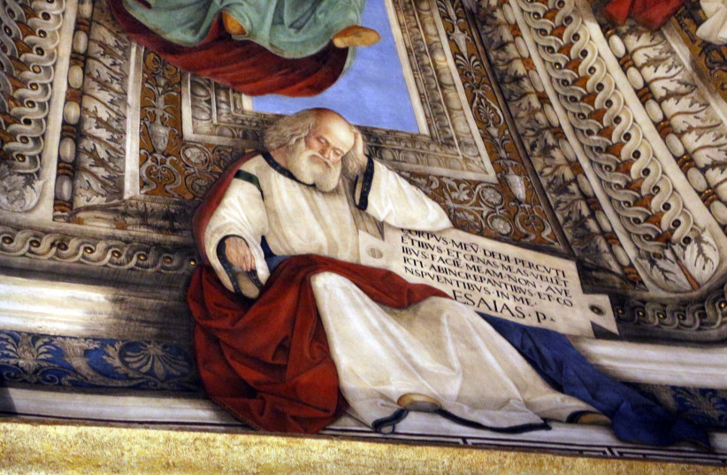 Prophat Isaiah in the Sacristy of Saint Mark (photo credit: WIKIMEDIA COMMONS/ SAILKO)