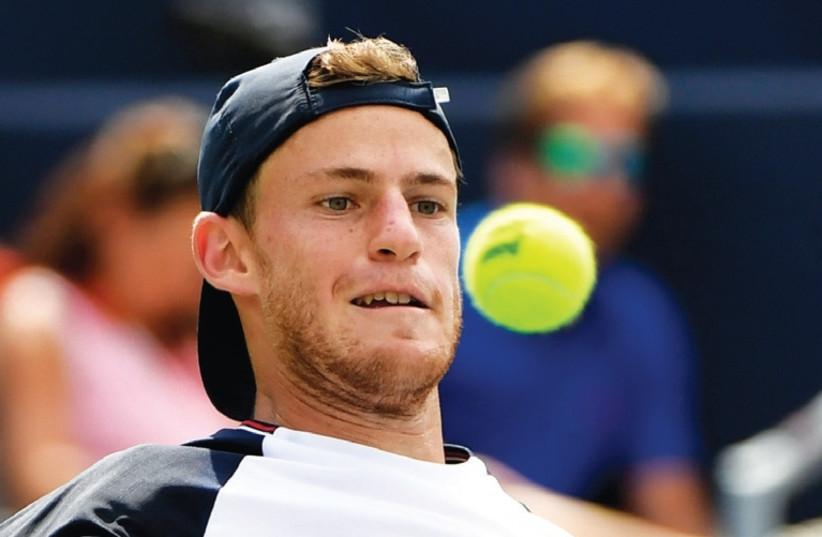 Diego Schwarzman The Biggest Mensch In Tennis The Jerusalem Post