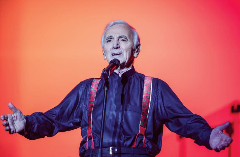 Charles Aznavour (photo credit: NICOLAS AZNAVOUR)
