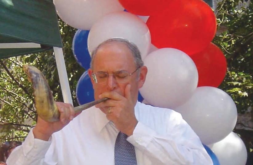 Kal Feinberg, America's best shofar blower (photo credit: PR)