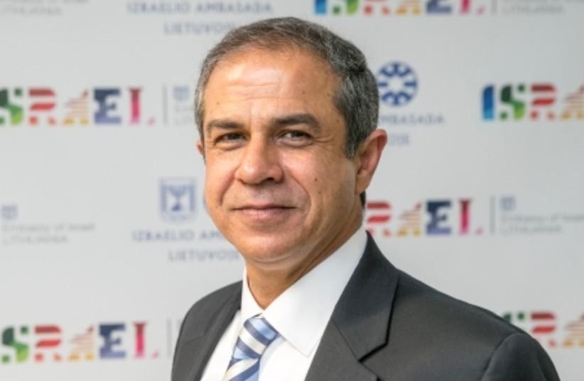 Israeli Ambassador to Lithuania Amir Maimon (photo credit: COURTESY FOREIGN MINISTRY)