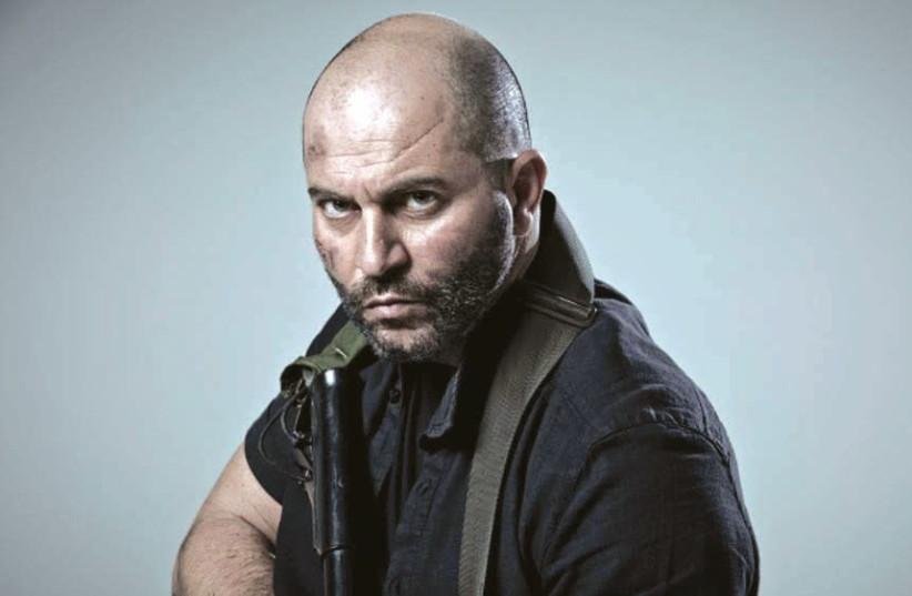 Lior Raz stars in the second season of the Israeli political thriller 'Fauda.' (photo credit: NETFLIX)