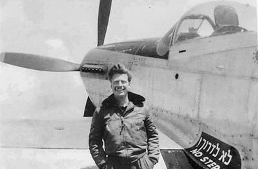 Mitchell Flint, an American pilot who volunteered to fight in Israel's War for Independence (photo credit: ISRAEL AIR FORCE)