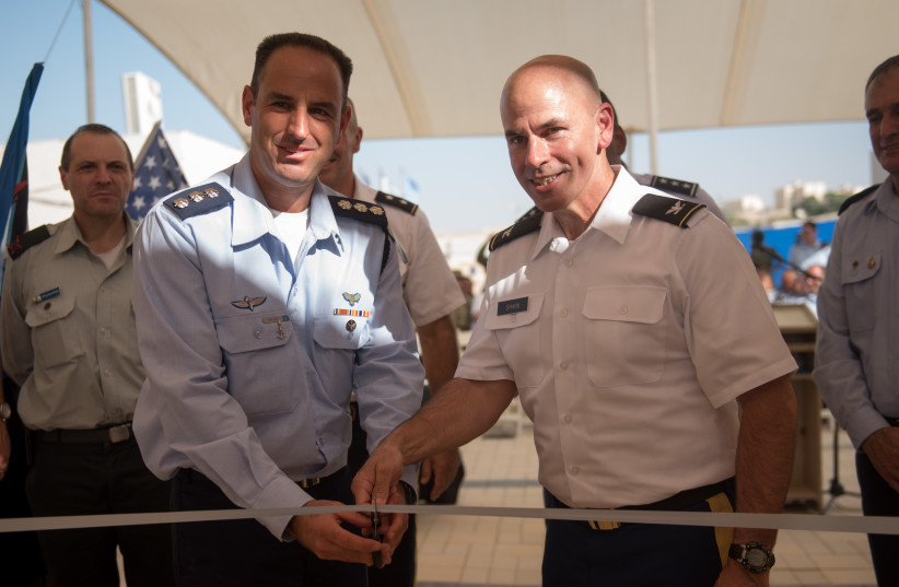 IDF, US Army celebrate opening of first joint base in Israel.  (photo credit: IDF)