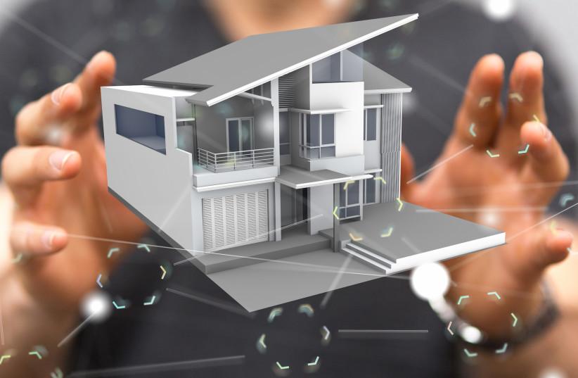 Smart home illustrative (photo credit: SHUTTERSTOCK)