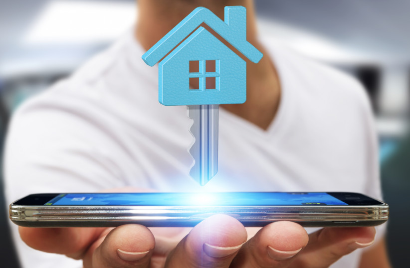 Today's key will be replaced by a smart device (illustrative) (photo credit: SHUTTERSTOCK)