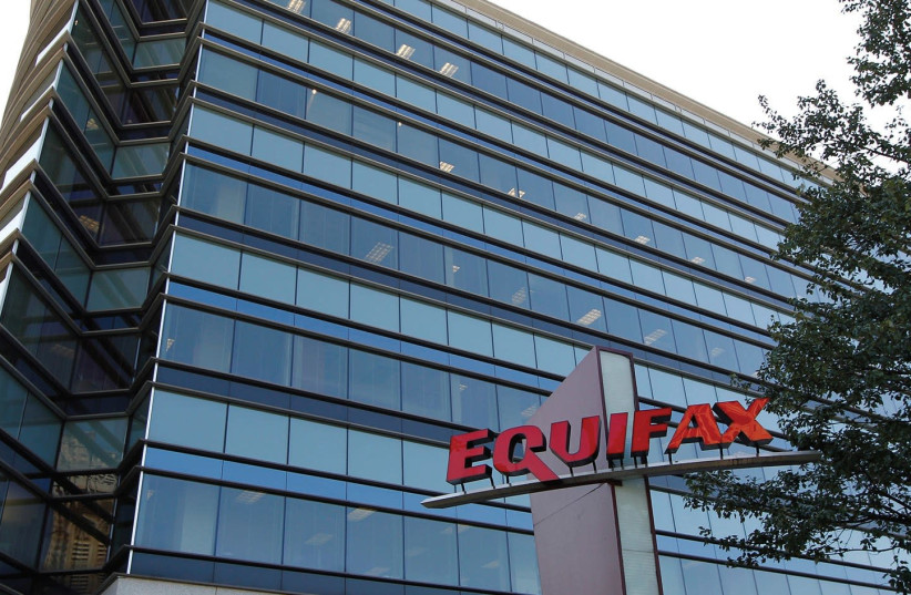 CREDIT-REPORTING company Equifax Inc. corporate offices are pictured in Atlanta, Georgia, on September 8 (photo credit: TAMI CHAPPELL / REUTERS)