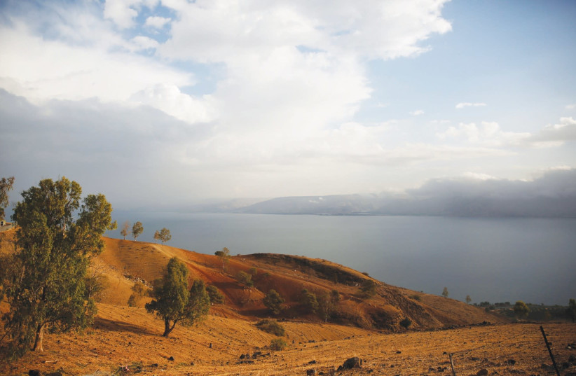 The sea of of Galilee is forecast to hit its lowest level ever (photo credit: RONEN ZVULUN / REUTERS)