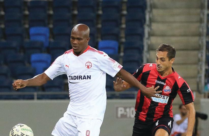 Hapoel Beersheba forward Anthony Nawkaeme. (photo credit: ERAN LUF)