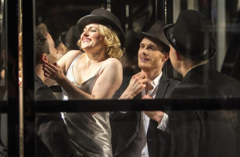 A SCENE from Neukoellner Oper's musical 'Stella: the Blond Poison of Kurfurstendamm.' (photo credit: MATTHIAS HEYDE)